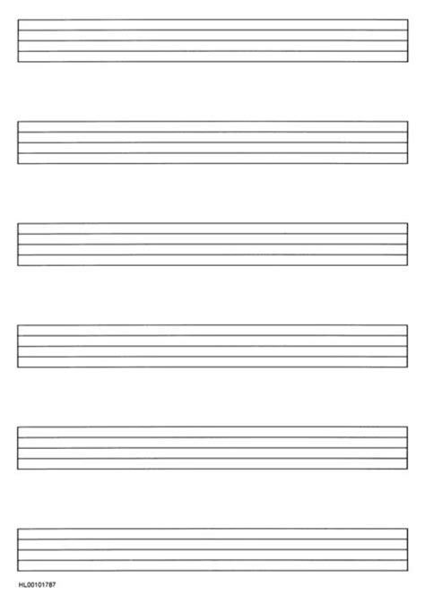 printable manuscript paper piano manuscript paper wide staff sheet music sku hl 101787