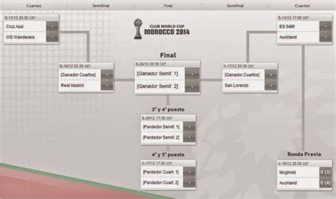 Calendario Mundial De Clubes 2015 Calendario Mundial De Clubes Marruecos 2014 Liga