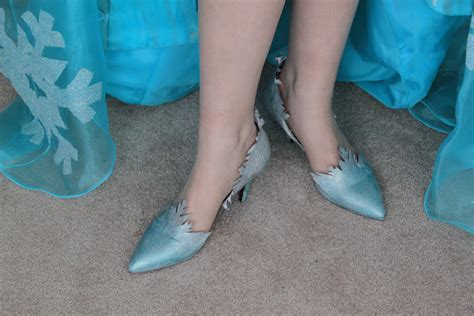 elsa shoes elsa shoes reberry costuming adventures