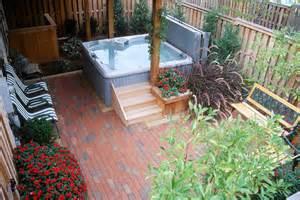 townhouse backyard ideas hidden lane landscaping
