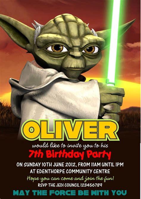 star wars birthday party invitations psd vector eps ai format   premium