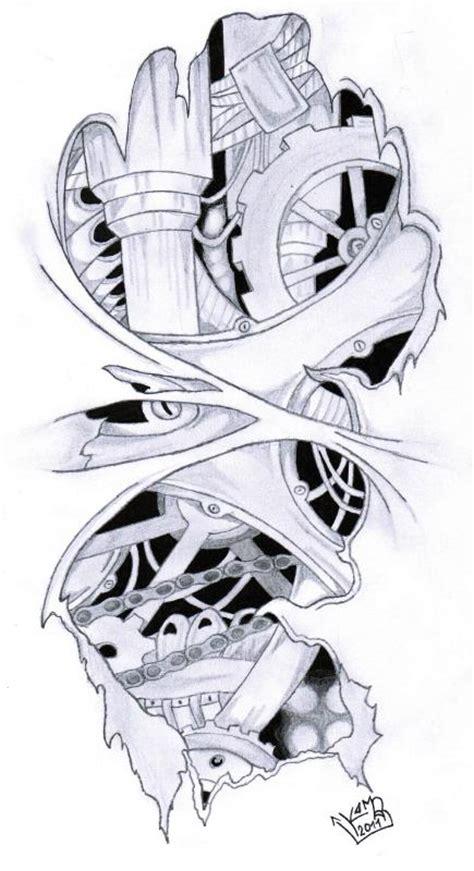 biomechanic tattoo by koomaar91 on deviantart