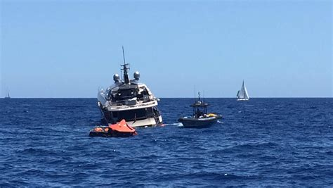 boat builder in spanish 37m yacht sinking near ibiza yacht harbour