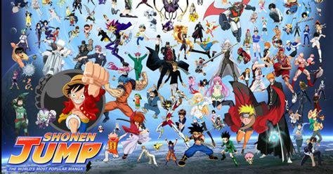 Shounen Anime the 50 best shonen jump anime of all time