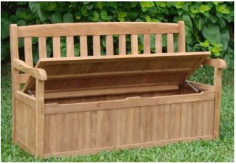 wood patio storage bench wooden patio storage bench plans quick woodworking projects