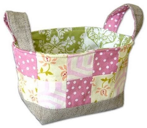 Patchwork Gifts Free Patterns - fabric basket patterns 171 free patterns