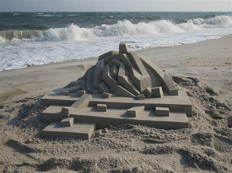 calvin seibert incredible modernist sand castles by calvin seibert