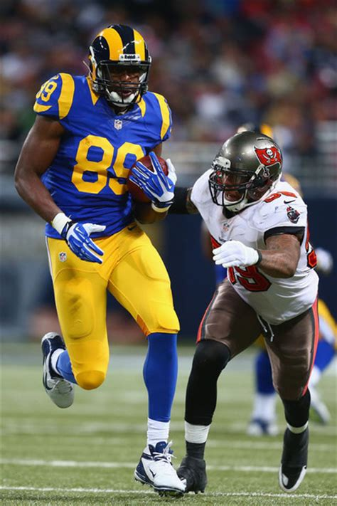 rams cook jared cook pictures ta bay buccaneers v st louis rams