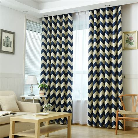 Curtains For Yellow Living Room Decor Aliexpress Buy Mediterranean Style Blackout Curtain For Bedroom Living Room Kitchen