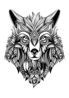 wolf mandala coloring page free coloring pages printables coloring glue guns and
