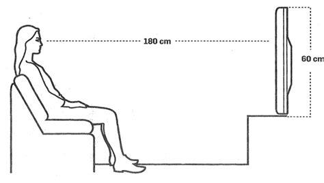 distancia tv sofa qual 233 a dist 226 ncia certa entre a tv e o sof 225 aprenda a