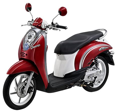 motorcycle race scoopy honda