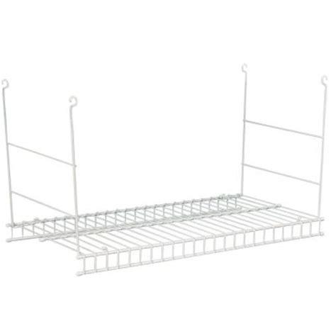 Closetmaid 24 Inch Shelf Closetmaid 24 In Hanging Wire Shelf 1048 The Home Depot