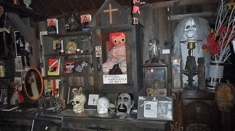 annabelle doll location the warren occult museum