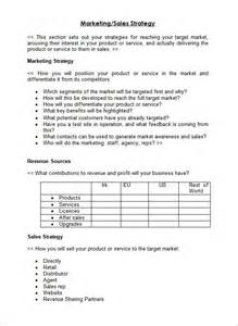 business plans templates and sles sle sales plan template 17 free documents in pdf