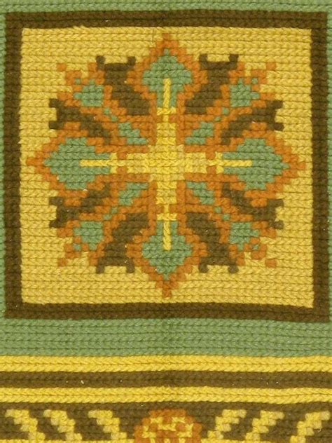 portuguese needlepoint rugs vintage portuguese needlepoint rug for sale at 1stdibs