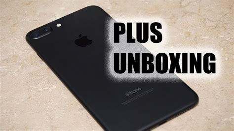 iphone 7 plus from cricket wireless unnecessary unboxing