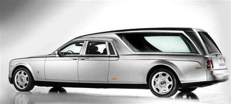 Rolls Royce Phantom hearse is a classy, costly way to go