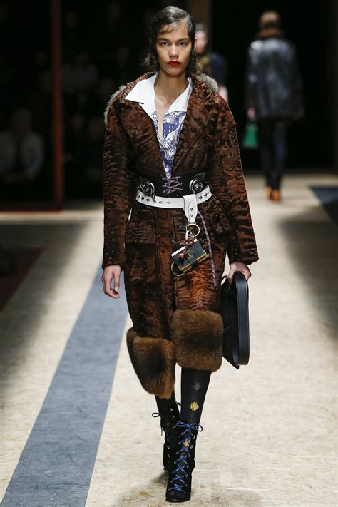 Miuccia Prada Bored With Fur by Runway Report Prada Fall 2016 Palermo