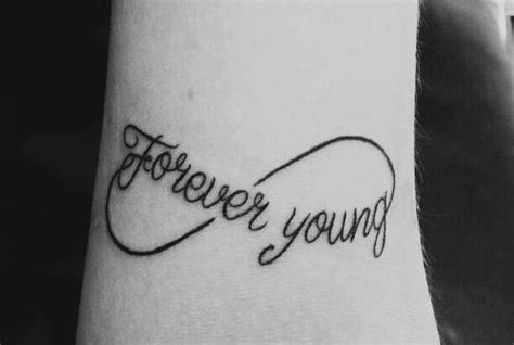 forever young tattoo forever idea for my it is song