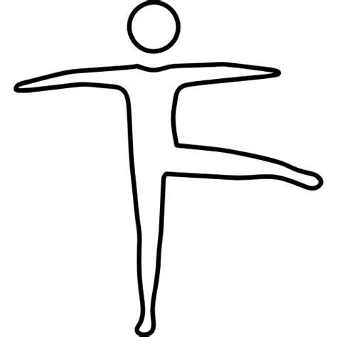 Dancer Outline by Dancer Outline Free Icons
