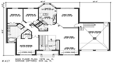 small one story house plans bay window small house bungalow one story bungalow house