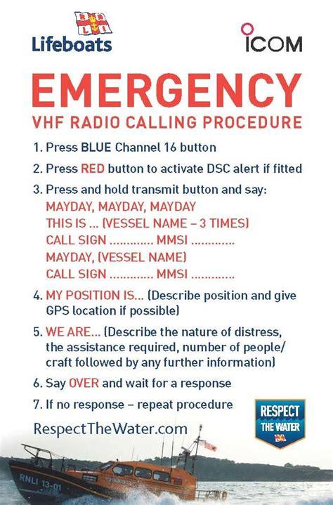 raising awareness  marine vhf radio calling procedures ybw