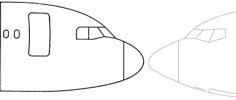 737 Coloring Page by Boeing 737 800 Sketch Coloring Page