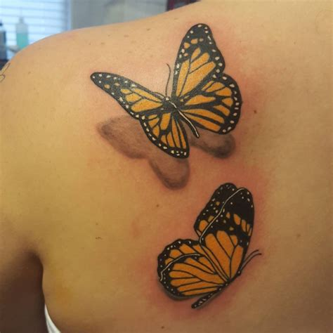 yellow butterfly tattoo 32 butterfly designs ideas design trends
