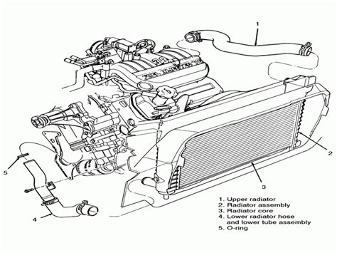 ford taurus cooling system diagram ford taurus radiator hoses diagram wiring forums