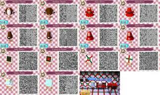 Acnl holiday collection qr codes by acnl qr codez on deviantart