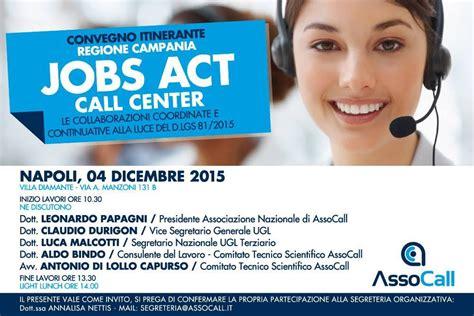 call center di commercio secondo convegno act call center ugl terziario