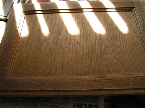 Re Staining Cabinets Silicon Valley Living