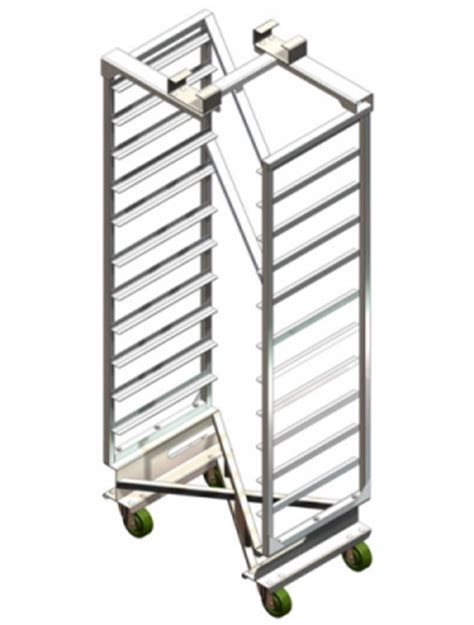 Bakery Oven Racks by National Cart Products Next Nesting Bakery Oven Rack