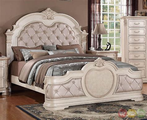 distressed white bedroom set unity antique traditional distressed antique white