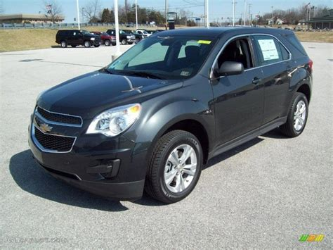 Gray Ls by Ashen Gray Metallic 2012 Chevrolet Equinox Ls Exterior
