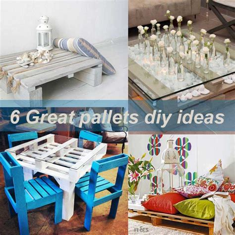 diy idea 6 great pallets diy ideas my desired home