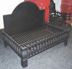 large cast iron grate fireplace grate basket