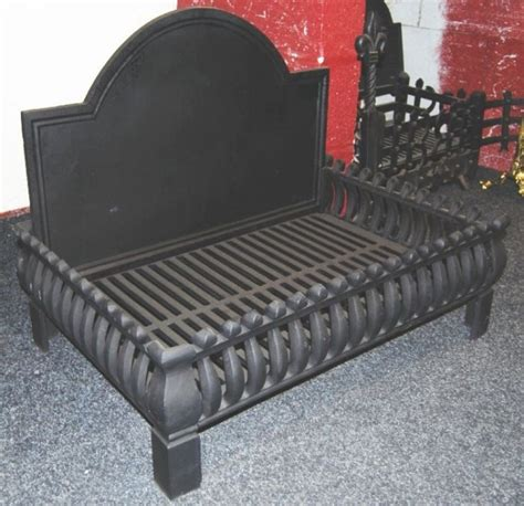large fireplace grate large cast iron basket cast iron grate