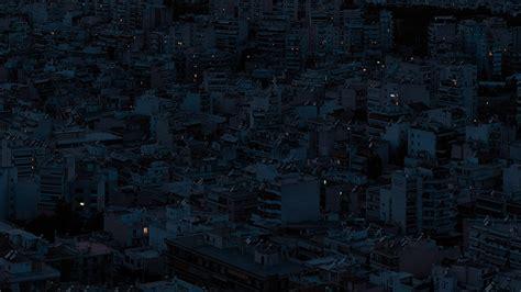 dark city night art illustration wallpaper