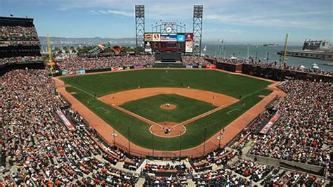 san francisco map at t park sf giants to create an edible garden at at t park eater