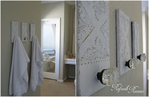 bathroom towel holder ideas 15 cool diy towel holder ideas for your bathroom