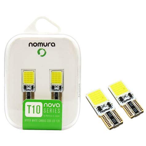 led per auto interni ladina t10 a led nomura led cob t10 per