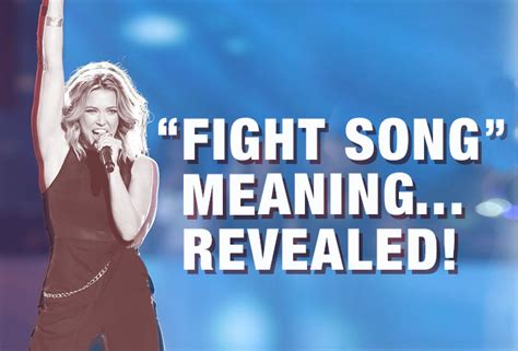 secret song meaning platten reveals the secret meaning of quot fight song quot