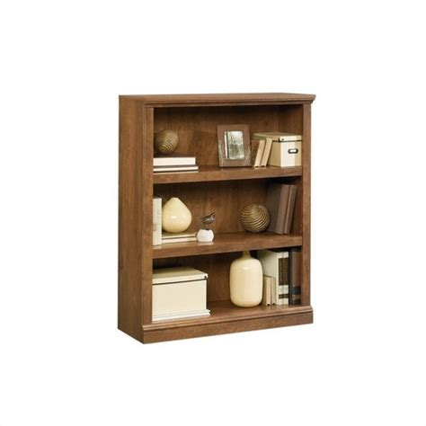 Sauder Oak Bookcase Sauder 3 Shelf Oak Bookcase