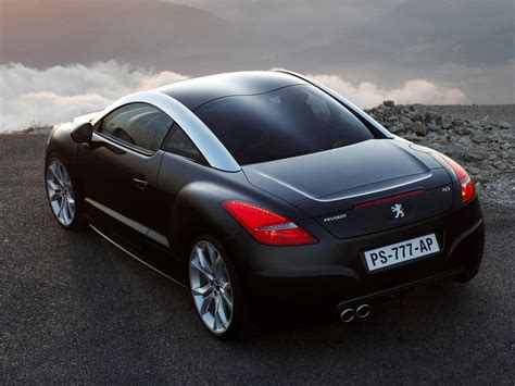 peugeot rcz black rcz 1st generation rcz peugeot database carlook