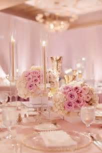 pinke dekoration 25 best ideas about pink and gold wedding on