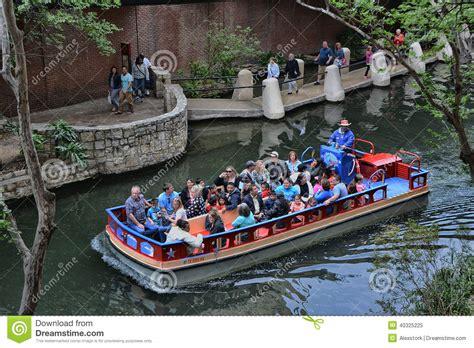 san antonio boat tour riverwalk tour boat editorial image image of tourism