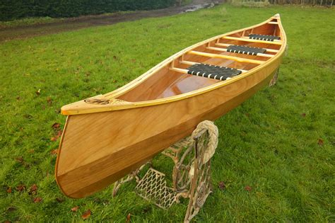 Handmade Wooden Canoes - weston 156 wooden canoes handmade in norfolk