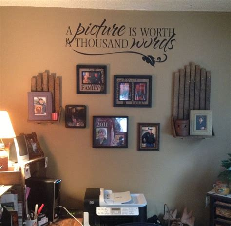 decorate your walls with words todays work at home